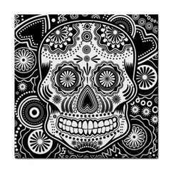Sugar Skull Face Towel by Ancello