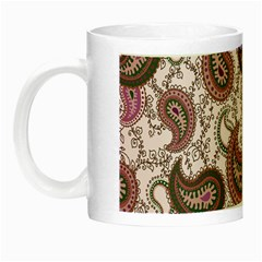 Paisley In Pink Glow In The Dark Mug by StuffOrSomething