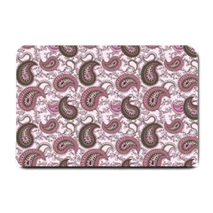 Paisley In Pink Small Door Mat by StuffOrSomething
