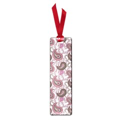 Paisley In Pink Small Bookmark