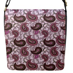 Paisley In Pink Removable Flap Cover (small)