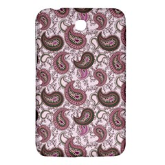 Paisley In Pink Samsung Galaxy Tab 3 (7 ) P3200 Hardshell Case