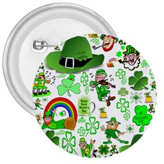 St Patrick s Day Collage 3  Button by StuffOrSomething