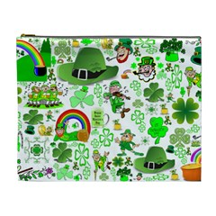 St Patrick s Day Collage Cosmetic Bag (xl) by StuffOrSomething