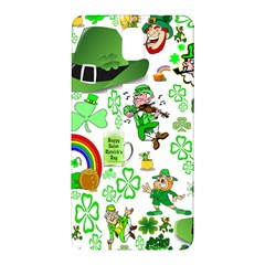 St Patrick s Day Collage Samsung Galaxy Note 3 Hardshell Back Case by StuffOrSomething