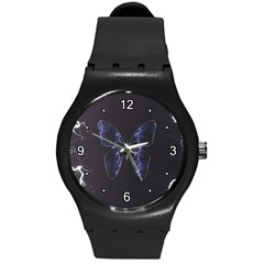 Electric Butterfly Plastic Sport Watch (medium)