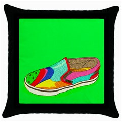 One Black Throw Pillow Case by Contest1760572