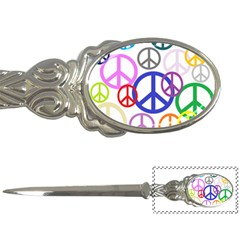 Peace Sign Collage Png Letter Opener by StuffOrSomething