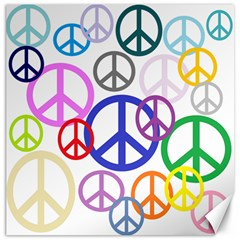 Peace Sign Collage Png Canvas 20  X 20  (unframed)