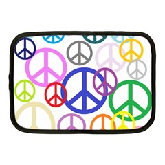 Peace Sign Collage Png Netbook Sleeve (medium) by StuffOrSomething