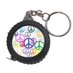 Peace Sign Collage Png Measuring Tape