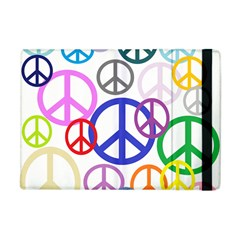 Peace Sign Collage Png Apple Ipad Mini Flip Case