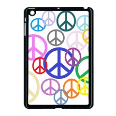 Peace Sign Collage Png Apple Ipad Mini Case (black) by StuffOrSomething