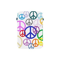 Peace Sign Collage Png Apple Ipad Mini Protective Sleeve