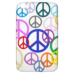 Peace Sign Collage Png Samsung Galaxy Tab 3 (8 ) T3100 Hardshell Case