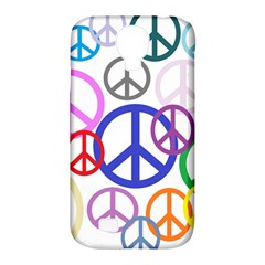 Peace Sign Collage Png Samsung Galaxy S4 Classic Hardshell Case (pc+silicone) by StuffOrSomething