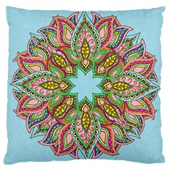 More Flowers Large Cushion Case (single Sided)