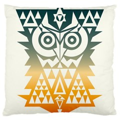 Triangowl Large Cushion Case (single Sided)