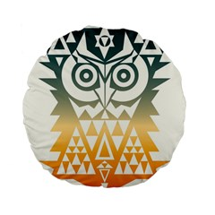 Triangowl 15  Premium Round Cushion