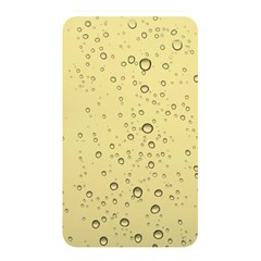 Yellow Water Droplets Memory Card Reader (rectangular)