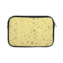 Yellow Water Droplets Apple Ipad Mini Zippered Sleeve