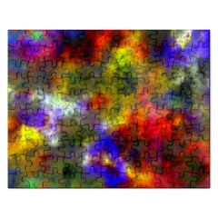 Deep Watercolors Jigsaw Puzzle (rectangle)