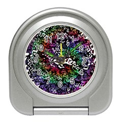 Urock Musicians Twisted Rainbow Notes  Desk Alarm Clock