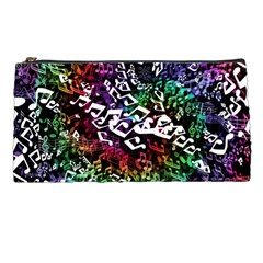 Urock Musicians Twisted Rainbow Notes  Pencil Case by UROCKtheWorldDesign