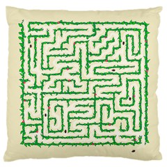 A Maze    Large Cushion Case (two Sided)  by Contest1729022