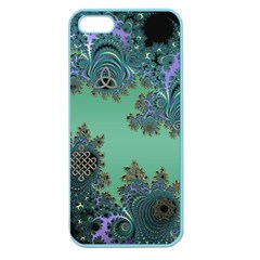 Celtic Symbolic Fractal Apple Seamless Iphone 5 Case (color) by UROCKtheWorldDesign
