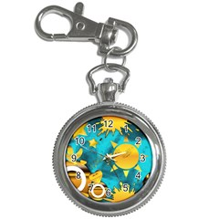 Musical Peace Key Chain Watch by StuffOrSomething