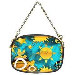 Musical Peace Chain Purse (two Sided)