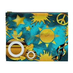 Musical Peace Cosmetic Bag (xl)