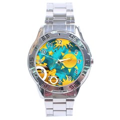 Musical Peace Stainless Steel Watch by StuffOrSomething