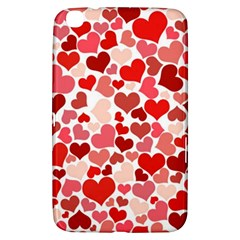 Pretty Hearts  Samsung Galaxy Tab 3 (8 ) T3100 Hardshell Case  by Colorfulart23