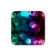 Deep Bubble Art Drink Coasters 4 Pack (square) by Colorfulart23