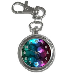 Deep Bubble Art Key Chain Watch by Colorfulart23