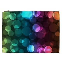 Deep Bubble Art Cosmetic Bag (xxl) by Colorfulart23