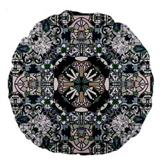 Stained Glass 18  Premium Round Cushion  by Contest1848470