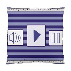 Music Time  Cushion Case (two Sided)