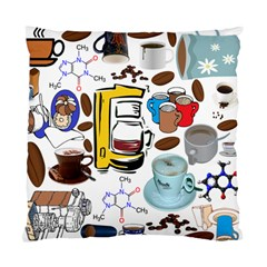 Just Bring Me Coffee Cushion Case (two Sided)  by StuffOrSomething
