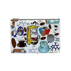 Just Bring Me Coffee Cosmetic Bag (medium)
