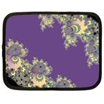 Purple Symbolic Fractal Netbook Sleeve (XL) Front