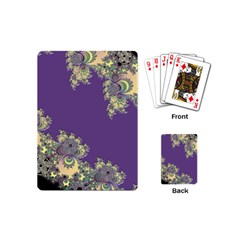 Purple Symbolic Fractal Playing Cards (mini)