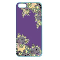 Purple Symbolic Fractal Apple Seamless Iphone 5 Case (color)