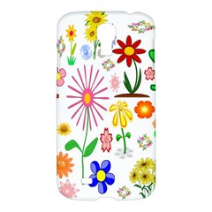 Summer Florals Samsung Galaxy S4 I9500/i9505 Hardshell Case by StuffOrSomething