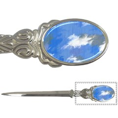 Abstract Clouds Letter Opener by StuffOrSomething