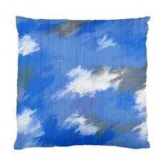 Abstract Clouds Cushion Case (single Sided)  by StuffOrSomething