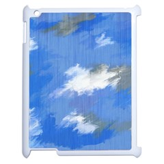 Abstract Clouds Apple Ipad 2 Case (white) by StuffOrSomething