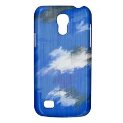 Abstract Clouds Samsung Galaxy S4 Mini (gt I9190) Hardshell Case  by StuffOrSomething